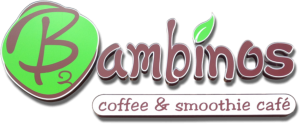 Bambinos Coffee and Smoothie Cafe Logo Clear Background
