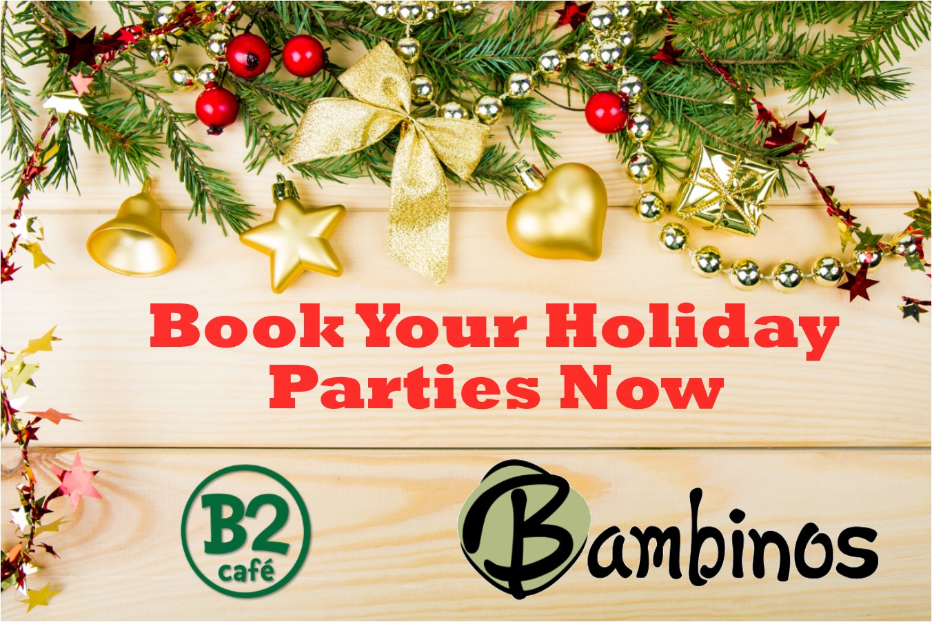 Book Your Holiday Parties Now Springfield Mo Restaurant