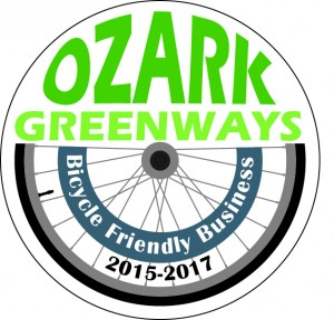 Ozarks Greenways Bicycle Friendly Business